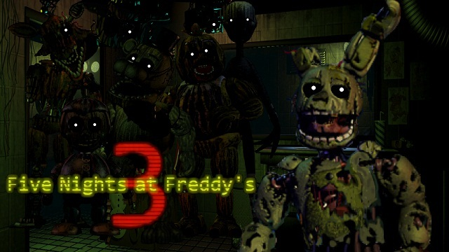 Five Nights At Freddy S 3 Five Nights At Freddy S