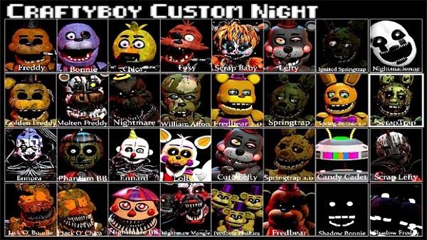 Craftyboy Custom Night