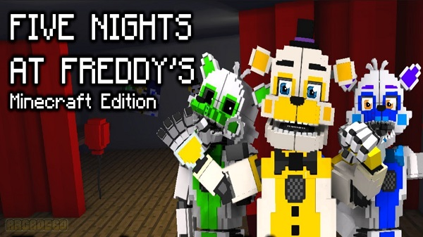 Minecraft Edition FNaF : MCE