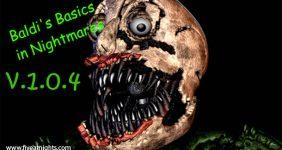 Baldis Basics in Nightmares v.1.0.4