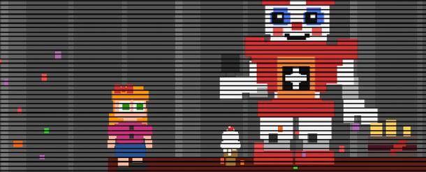 Fazbear Horror: Sister Location - Opening Minigame Demo